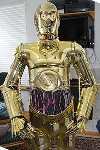C-3PO from Star Wars