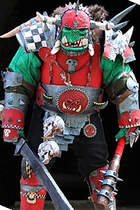 Orc Warboss from Warhammer Fantasy