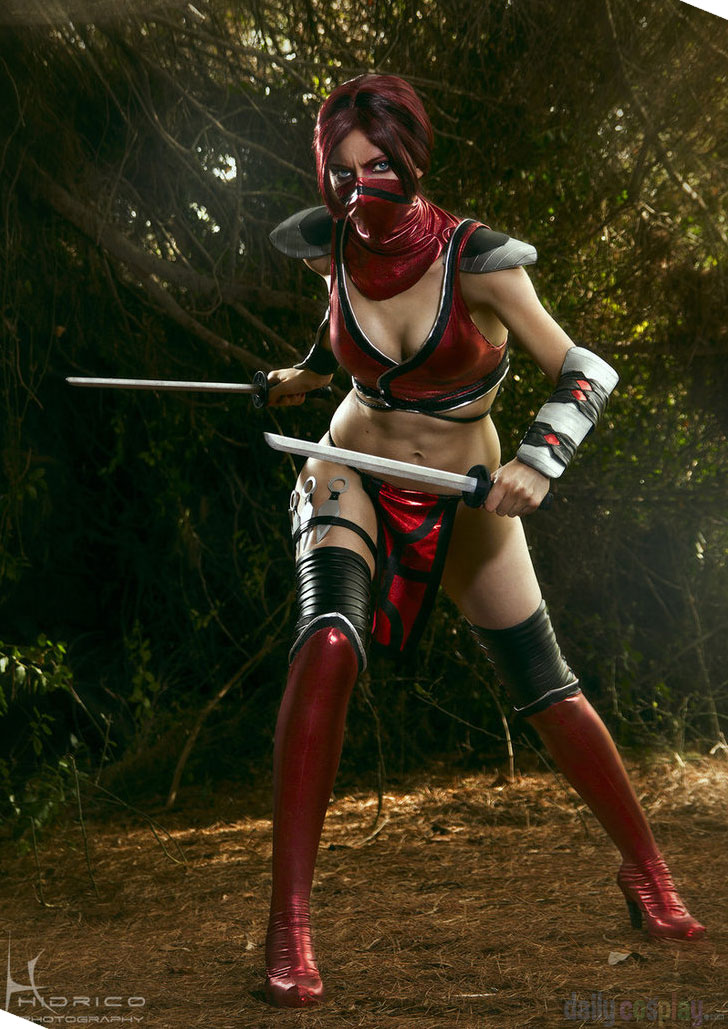 Skarlet from Mortal Kombat 9