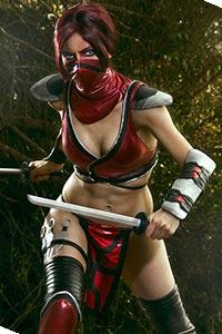 Skarlet from Mortal Kombat 9