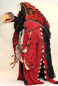 Skeksis Chamberlain / skekSil from The Dark Crystal