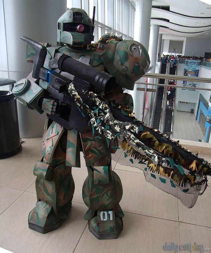 MS-05L Zaku - Sniper Custom from Mobile Suit Gundam 機動戦士ガンダム