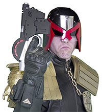 Judge Dredd from Judge Dredd 2000AD Comic