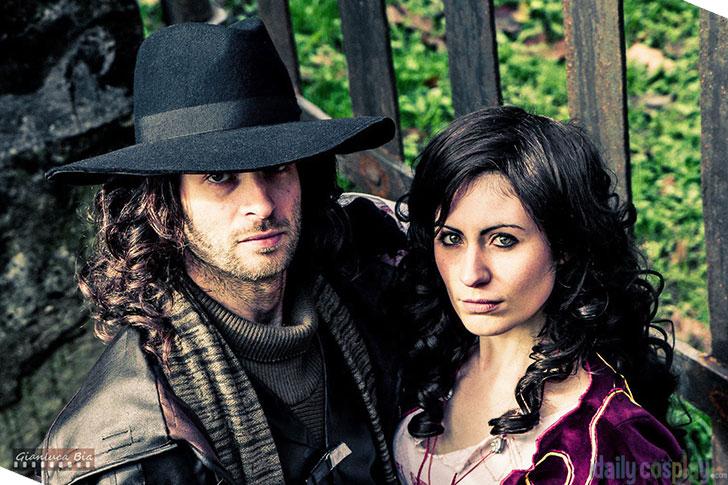 Van Helsing and Anna Valerious from Van Helsing