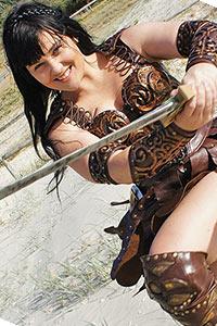 Xena from Xena: Warrior Princess