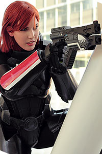 Female Commander Shepard from Mass Effect 3