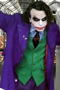 The Joker from The Dark Knight