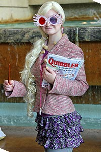 Luna Lovegood from Harry Potter and the Half-Blood Prince