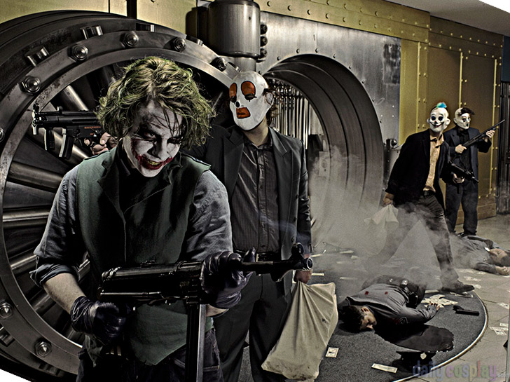 The Joker from The Dark Knight
