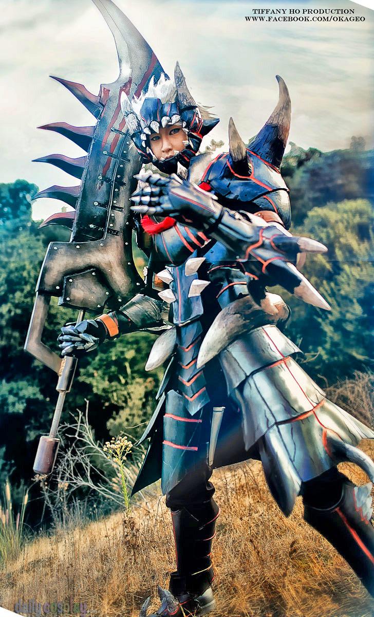 Akantor Armor from Monster Hunter