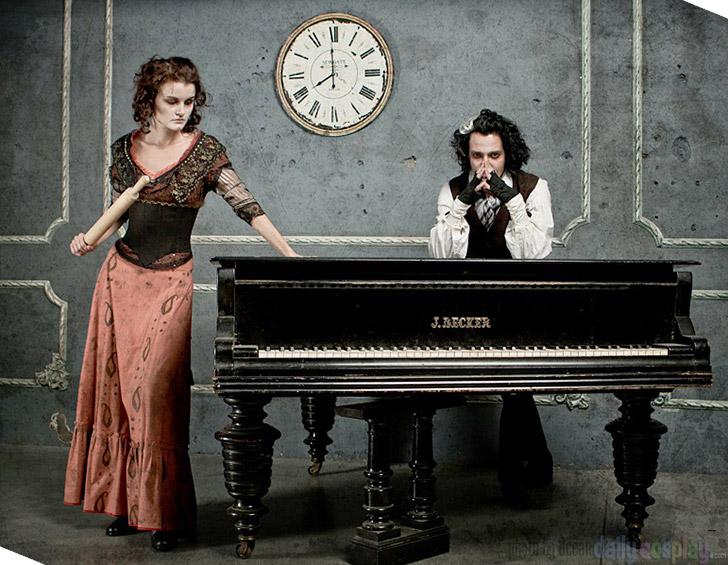 Mrs. Lovett and Sweeney Todd from Sweeney Todd: The Demon Barber of Fleet Street