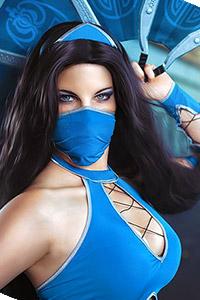 Kitana from Mortal Kombat 9