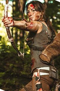 Lara Croft from Tomb Raider: Reborn
