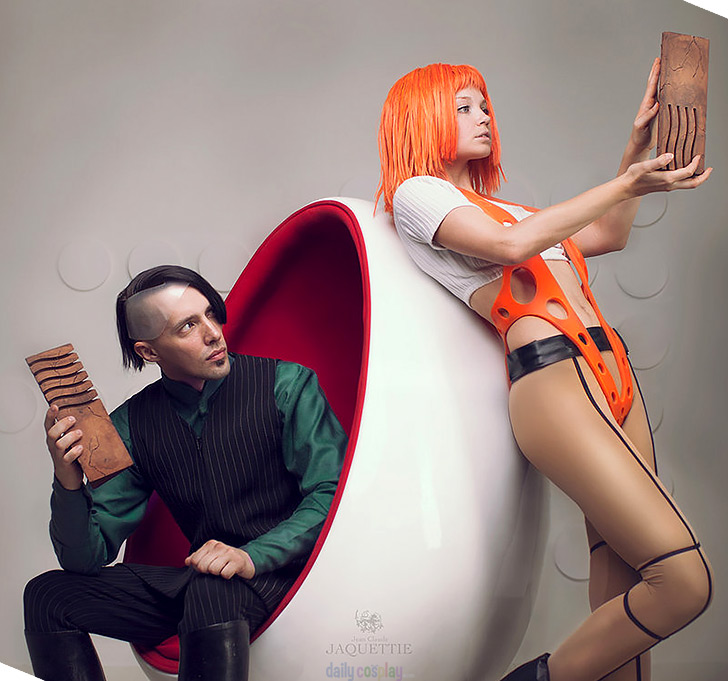 Leeloo & Zorg from The Fifth Element