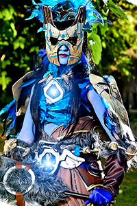 Draenei Shaman - Tier 14 from World of Warcraft