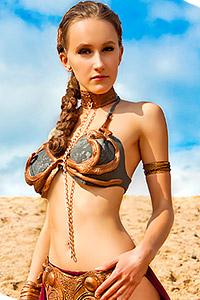 Slave Leia from Star Wars Episode VI: Return of the Jedi