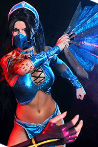 Kitana & Mileena from Mortal Kombat 9