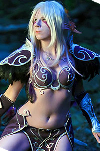 Night Elf from World of Warcraft