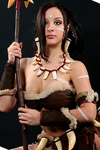Nidalee, the Bestial Huntress from League of Legends