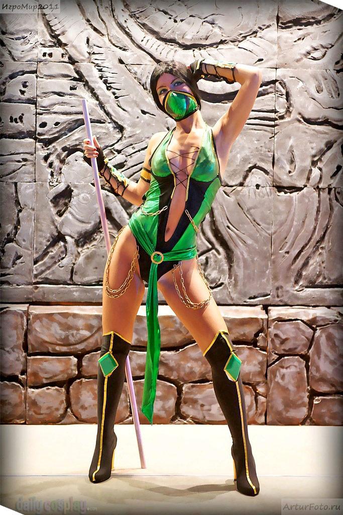 Jade from Mortal Kombat 9