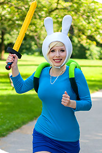 Fionna the Human from Adventure Time