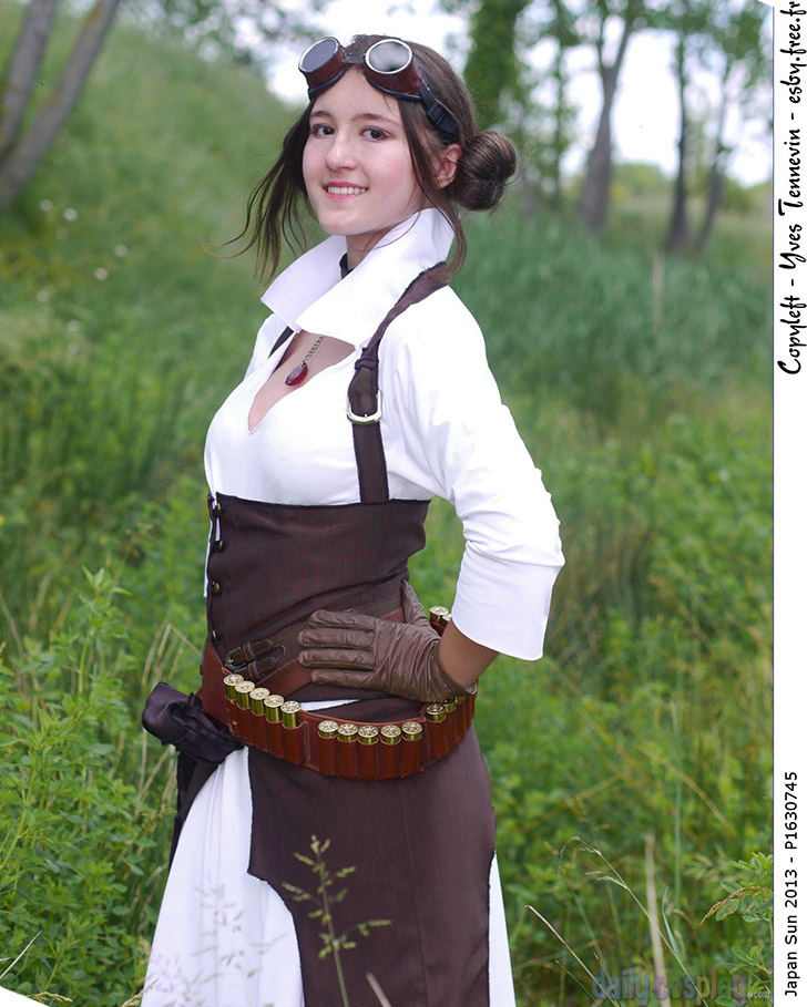 Steampunk Princess Leia from Star Wars
