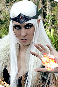 High Elf from Skyrim: Elder Scrolls