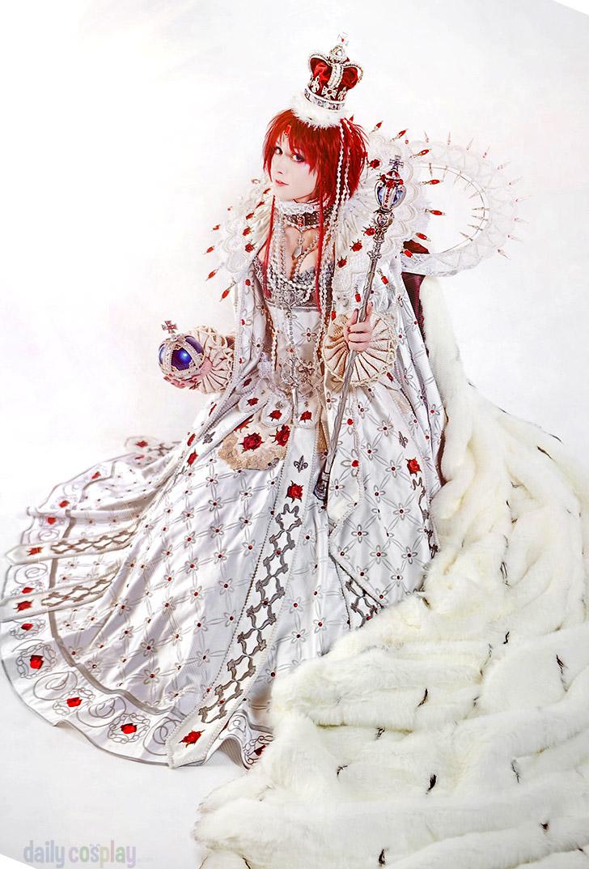 Esther Blanchett Queen of Albion エステル・ブランシェ from Trinity Blood トリニティ・ブラッド