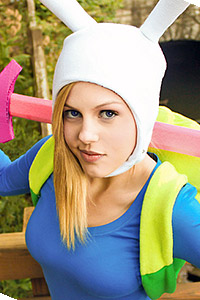 Fionna from Adventure Time: Fionna and Cake