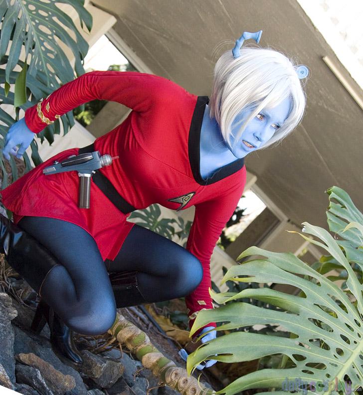 Andorian Starfleet Uniform from Star Trek: TOS