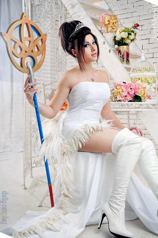 Wedding Yuna from Dissidia 012 Final Fantasy