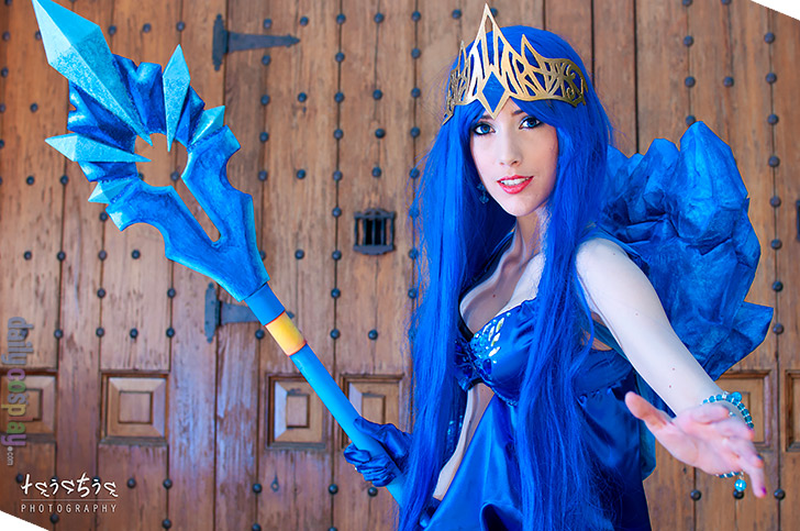Frost Queen Janna from League of Legends