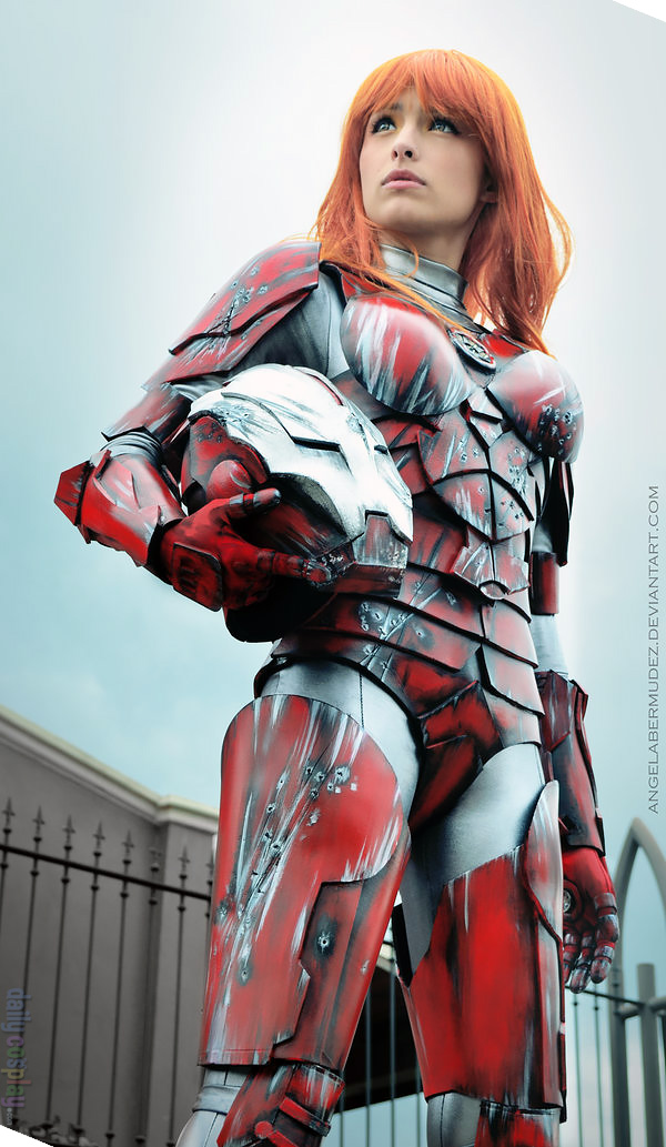 Pepper Potts R.E.S.C.U.E. Armor from Iron Man