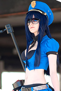 Officer Caitlyn from League of Legends