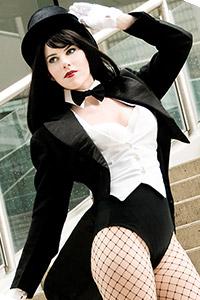 Zatanna Zatara from DC Comics