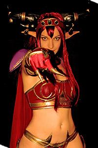 Queen Alexstrasza from World of Warcraft