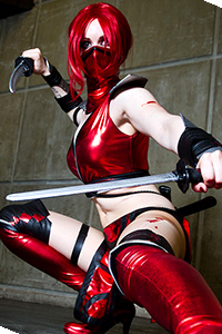 Scarlet from Mortal Kombat 9