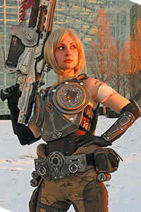 Anya Stroud from Gears of War