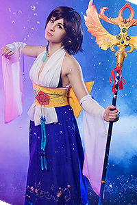 Yuna from Final Fantasy X