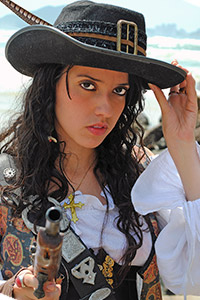 Angelica Teach from Pirates of the Caribbean: On Stranger Tides