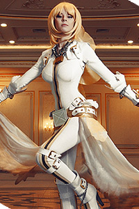 Saber Bride from Fate/Extra CCC