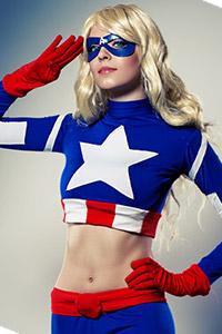 Femme Captain America / American Dream from Marvel Comics