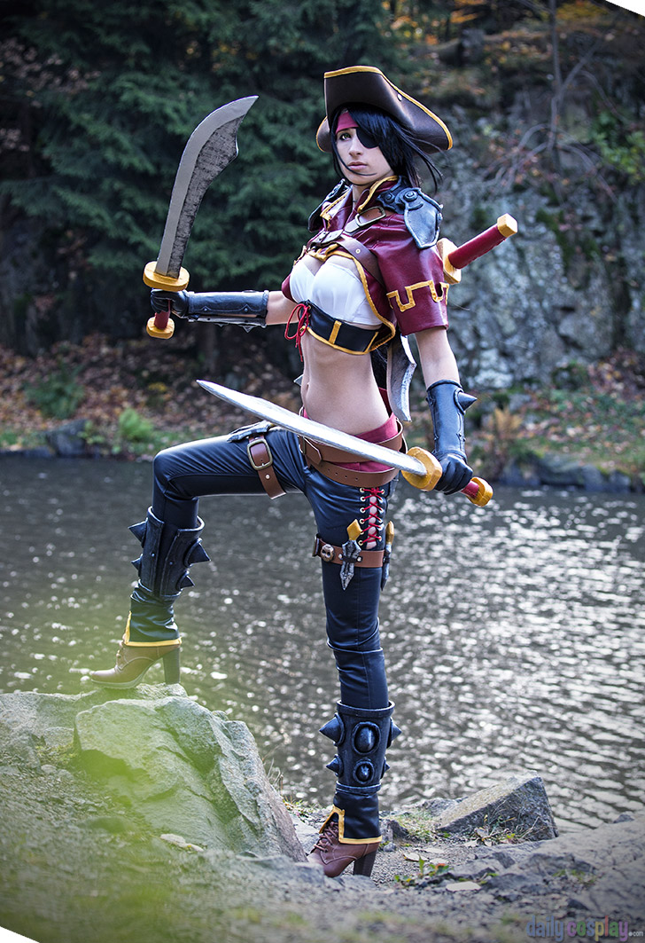 Bilgewater Katarina from League of Legends