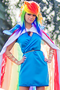 Rainbow Dash at the Gala from My Little Pony: Friendship is Magic