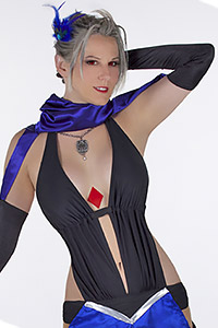Lady Luck Paine from Final Fantasy X-2