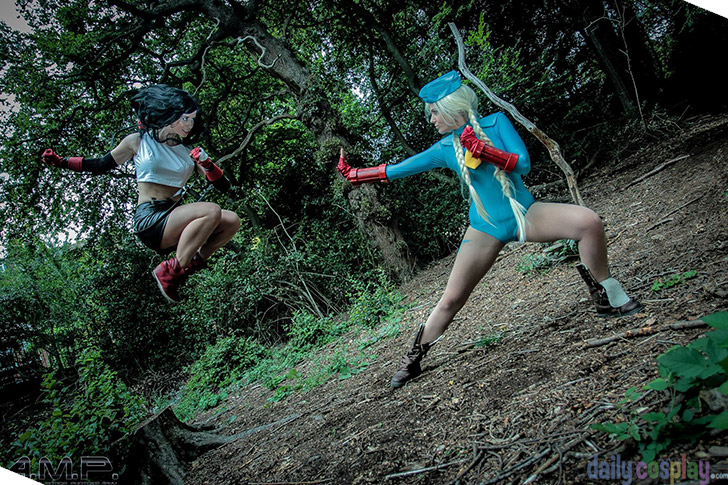 Cammy vs. Tifa from Street Fighter / Final Fantasy VII