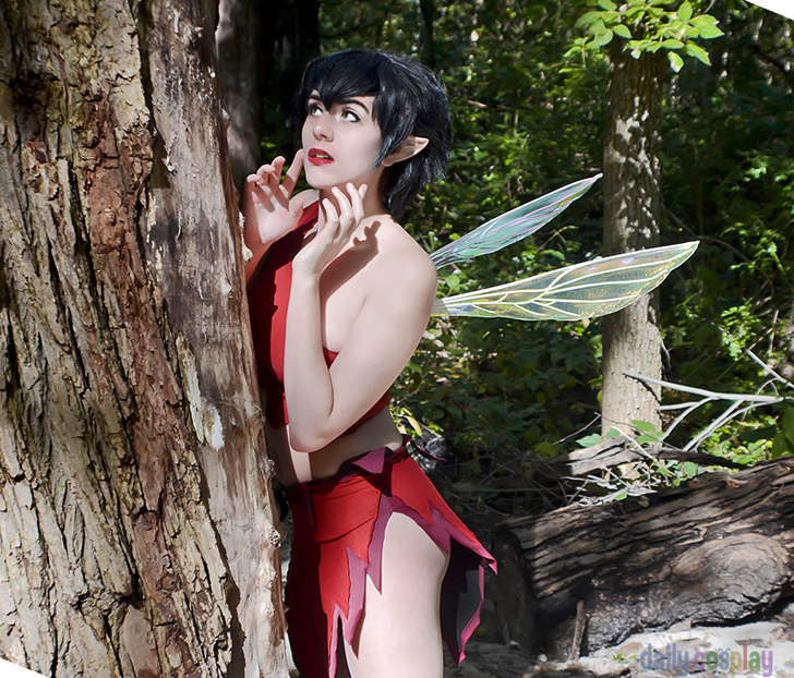 Crysta from FernGully: The Last Rainforest