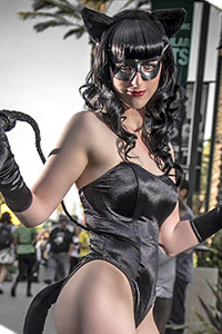 1950s Catwoman from Batman