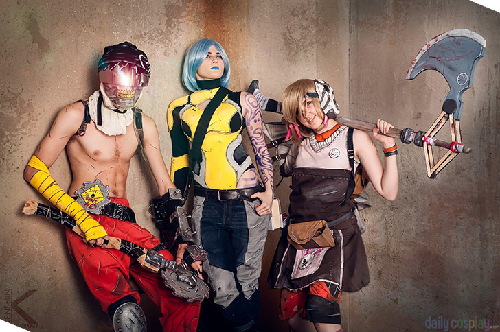 Tiny Tina, Maya & Krieg from Borderlands 2