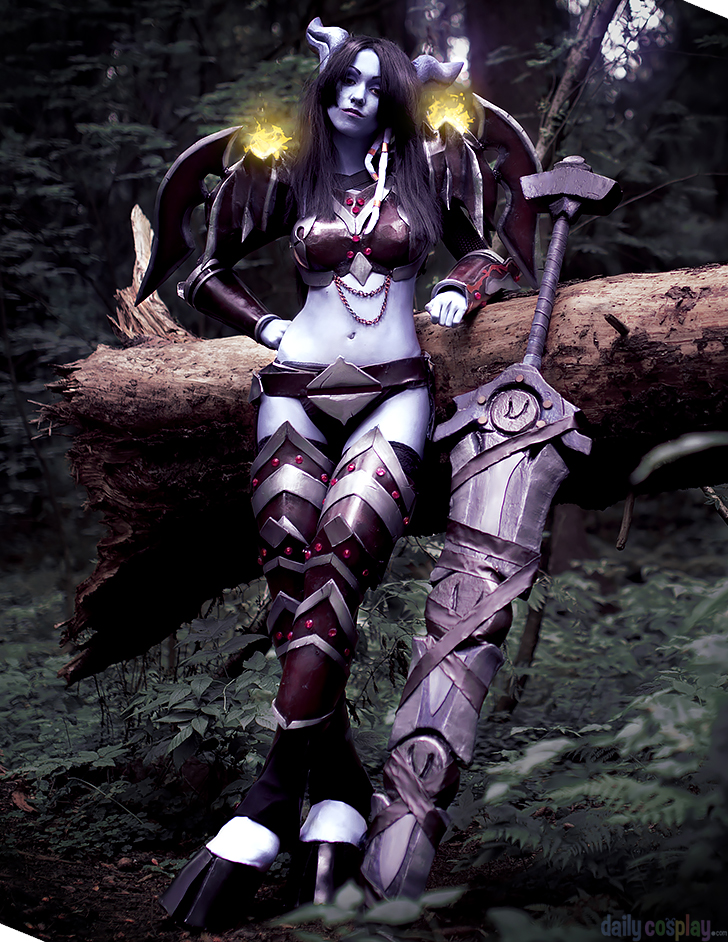 Draenei Warrior from World of Warcraft
